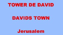 Tower of David and Davids town